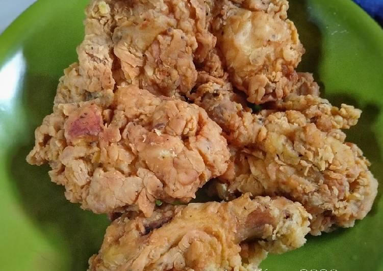 Resep Ayam KFC KW - Super Kriboo yang Lezat
