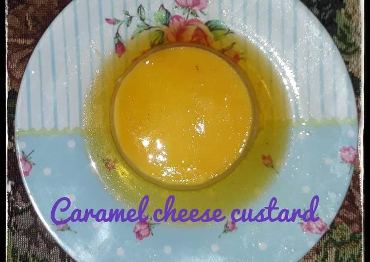 Caramel cheeSe custaRd pudding ❤