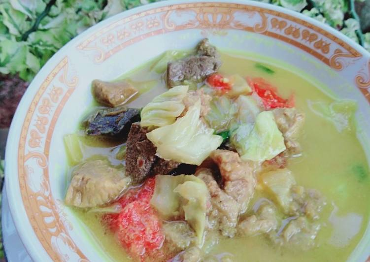 Tongseng daging kambing - cookandrecipe.com