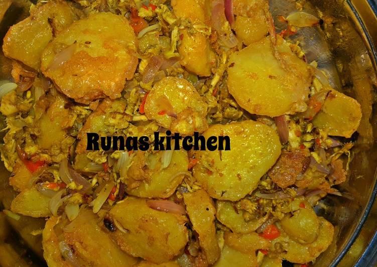 Potato Meat Recipe By Runas kitchen
