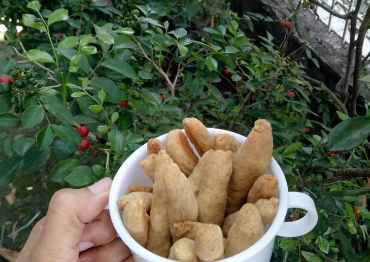 Cookies pisang-susu MPASI