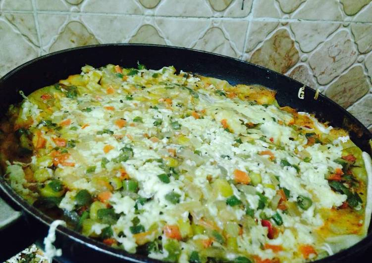 Lasagna in a pan