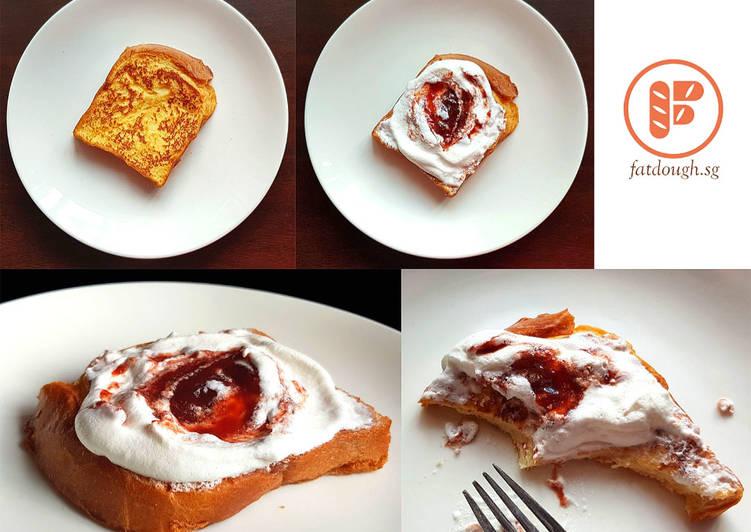 Ripple Cream on French Toast