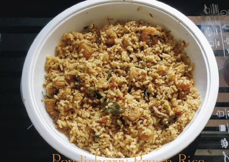 Recipe: Yummy Pondicherry Prawn Rice# heirloom