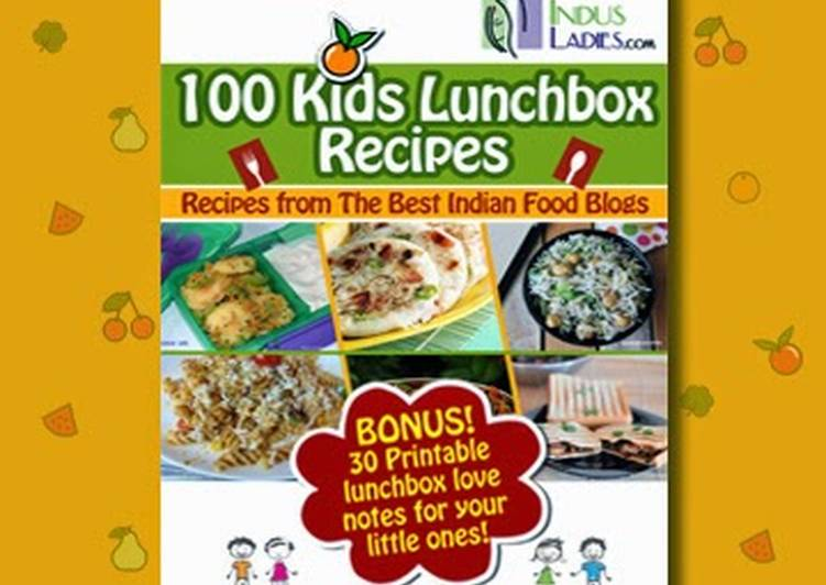 Kids Lunch box recipes e-book by Indus ladies and American Chop Suey