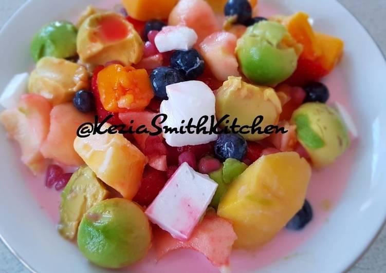 Mix Fruit Berry Ice (Es Buah Campur)