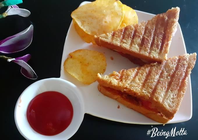Recipe: Tasty Peri Peri Veg Grill Sandwich