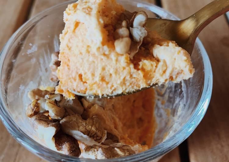 recette Crème dessert à la patate douce le délicieux