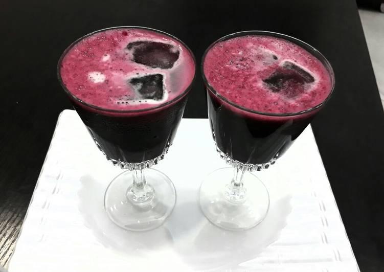 Easiest Way to Make Appetizing Beetroot juice drink