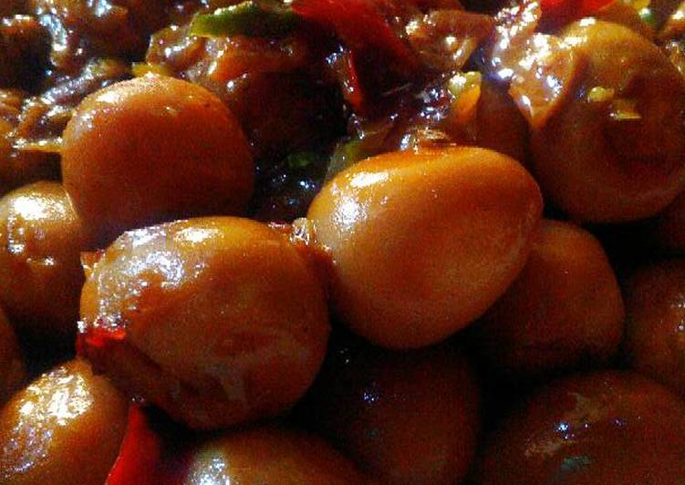 Resep Tongseng Telur Puyuh Pedas Manis Oleh Devi Puspitasari Cookpad