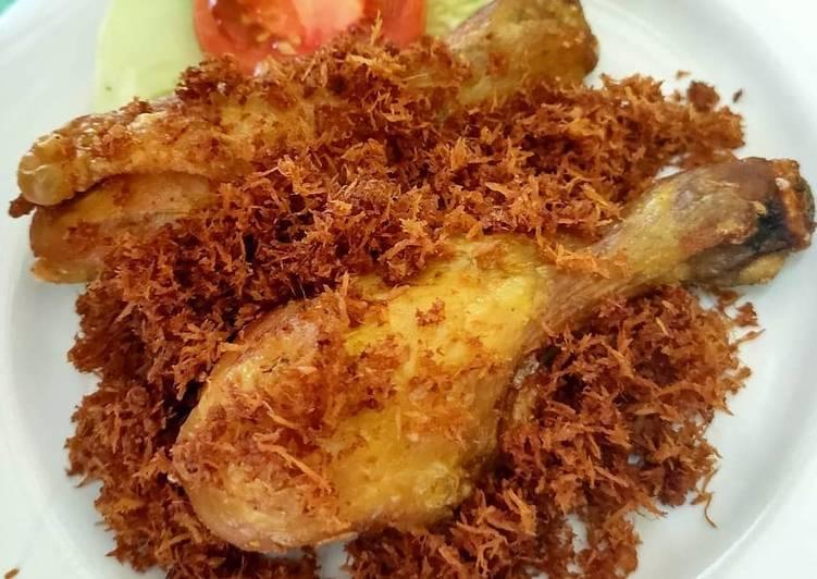 Resep Ayam Serundeng Enak Banget Resep Masakanku