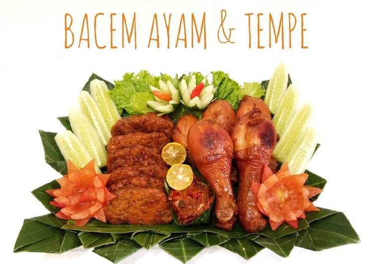 Resep Bacem Ayam & Tempe Yang Gampang Pasti Endes