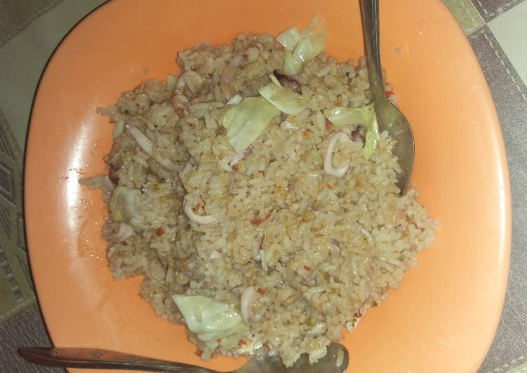 Resep Nasi goreng cumi, Menggugah Selera