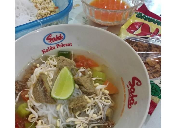 Soto Daging Semarang ala DAK