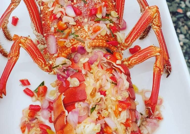 Cara Membuat Lobster sambal matah Sempurna