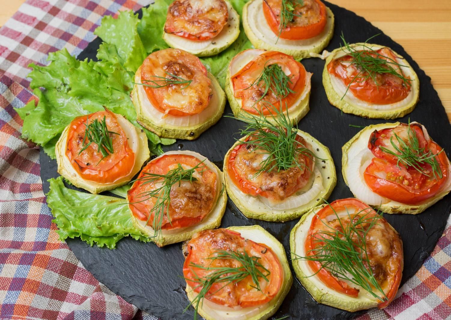 долго праздничные закуски из овощей с фото задан