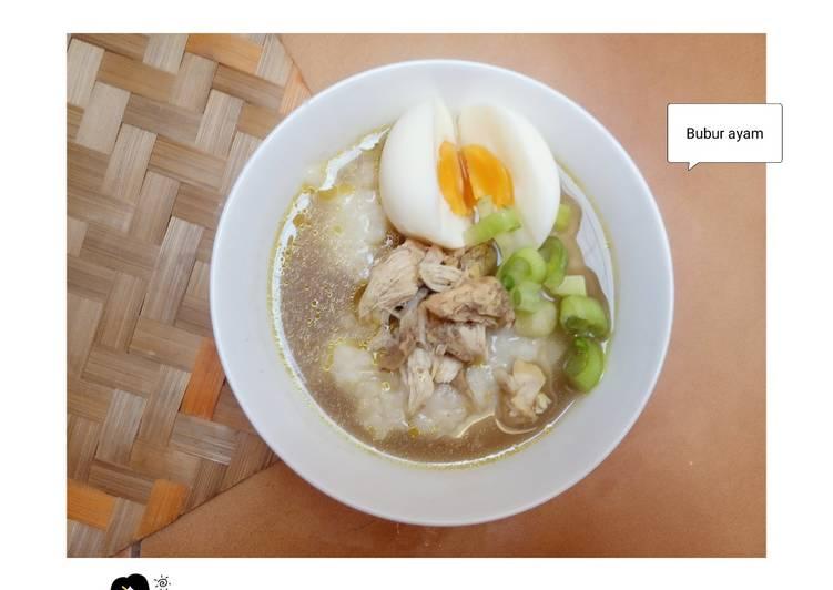 Bubur Ayam Rice Cooker