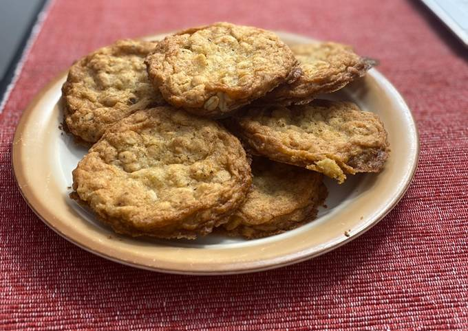 Recipe Really Good OMG Oatmeal Cookies