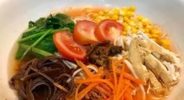 Hình ảnh món Mỳ tươi rau nấm (Mỳ ngũ sắc)