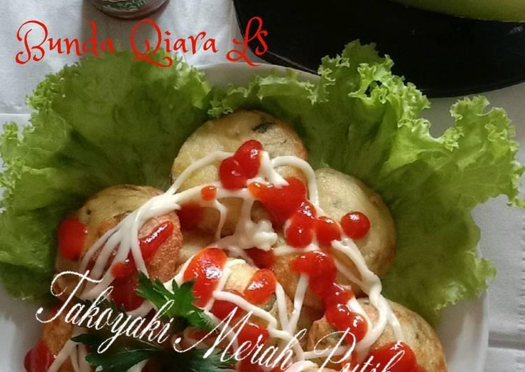 Takoyaki Merah Putih