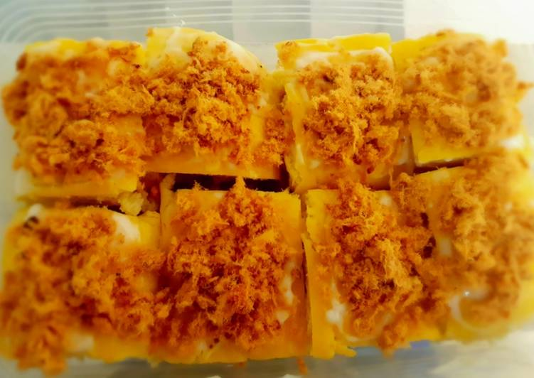Floss Bread | anti gagal #dirumahaja