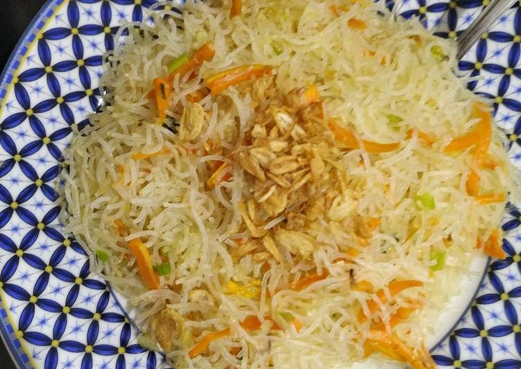 Bihun Goreng Putih Simple