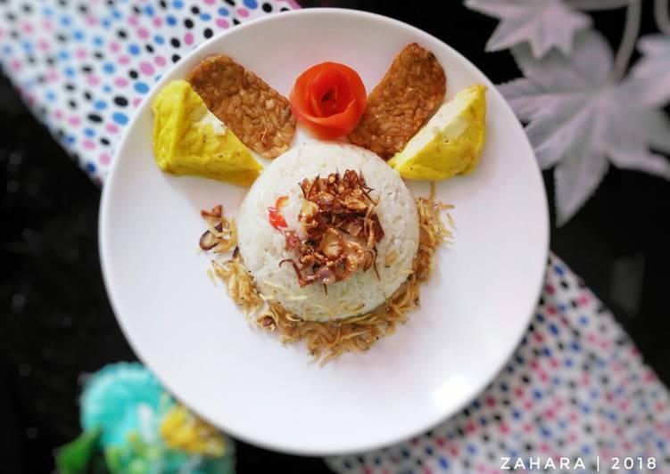 Nasi Liwet Teri Medan (#PR_Wantuteri)