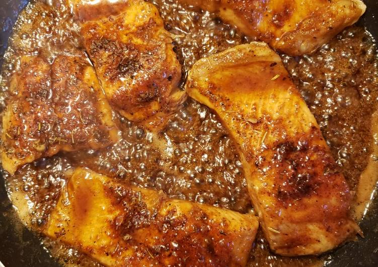 Steps to Make Quick Honey Garlic Salmon