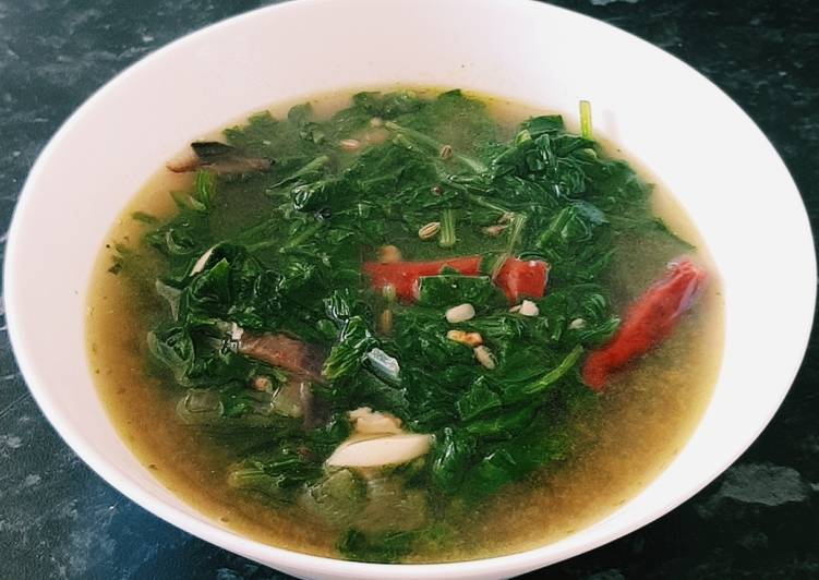 Simple Way to Make Award-winning Spinach Soup