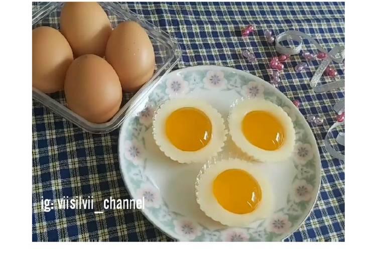 Puding Telur Mata Sapi