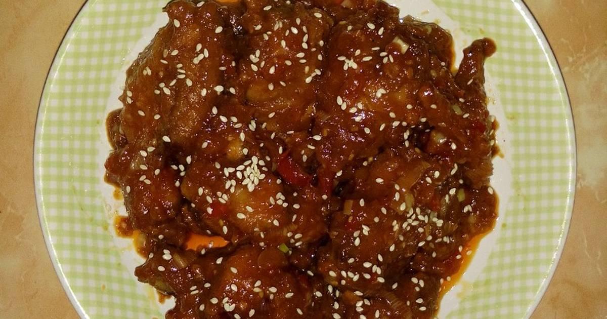 84 Resep Ayam Goreng Korea Yangyeom Tongdak Enak Dan Sederhana Ala Rumahan Cookpad