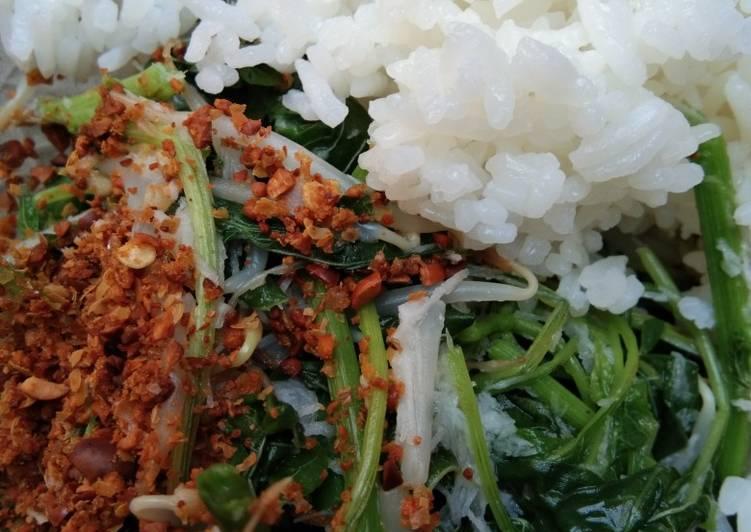 Resep Nasi Bancakan Gudangan Ala Uti Oleh Ma2 Khansa A N Cookpad
