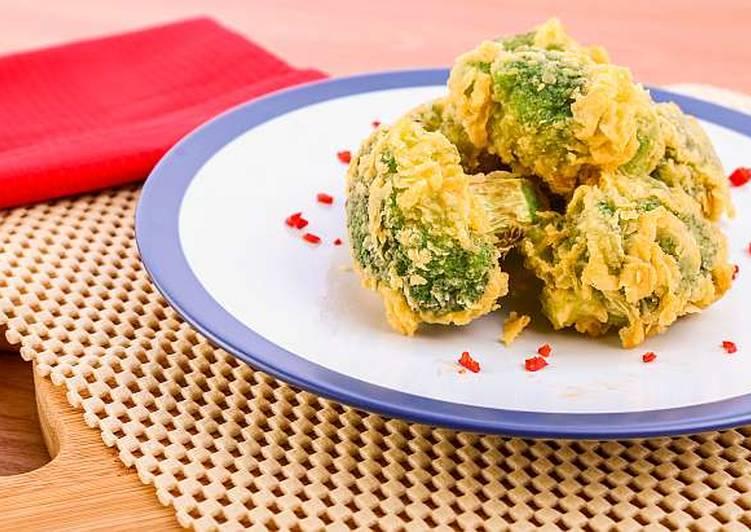 Crispy & Spicy Broccoli