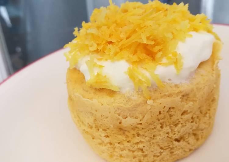 Mug Cake De Limón Con Harina De Coco Low Carbmétodo Grez