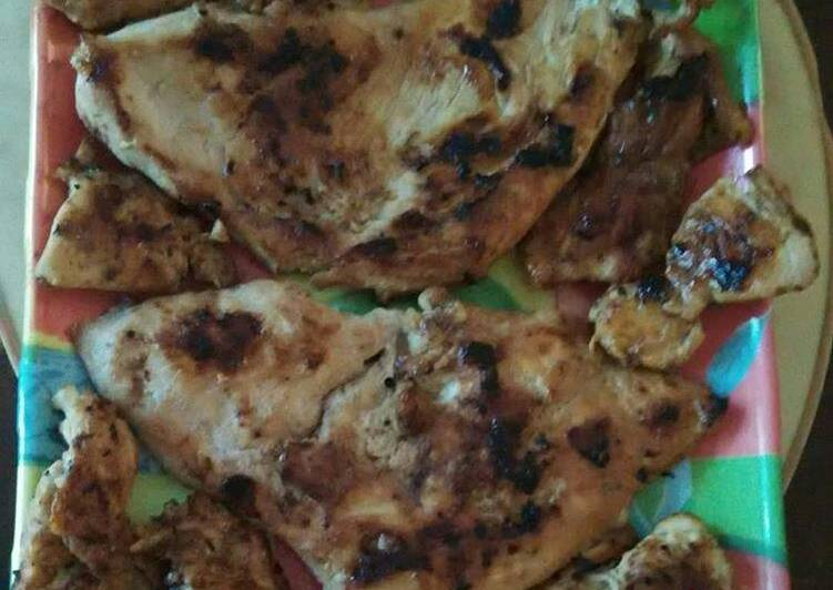 Recipe of Quick Grilled Chicken Breast
