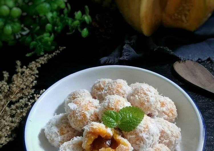 Klepon labu kuning - cookandrecipe.com