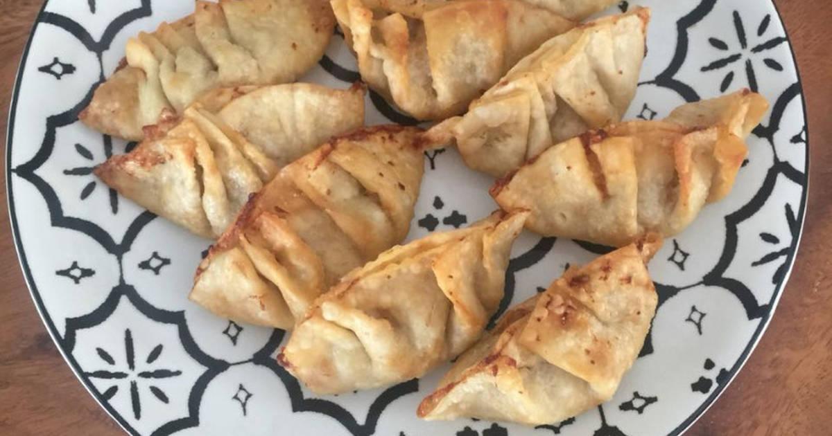 Resep Fried Dumplings Dumpling Goreng Oleh Rossi Cookpad