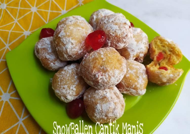 SnowBallen Cantik Manis - cookandrecipe.com