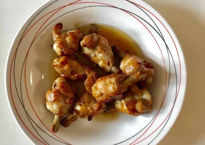 Poulets sautées à la sauce aigre-douce