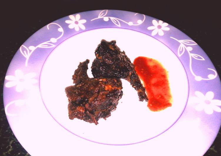 Step-by-Step Guide to Prepare Quick Sticky Spicy Mutton Ribs