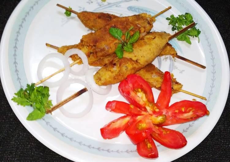 Recipe of Ultimate Veg seekh kabab