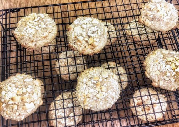 Cookies vegan noisette/chocolat blanc