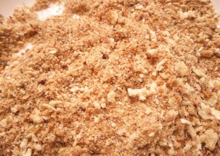 Recipe of Ultimate Homemade breadcrumbs