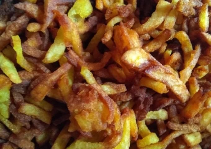 Crispy crunchy potatoes