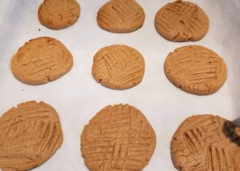 How to Cook Tasty Keto THM Sugar Free Peanut Butter Cookies