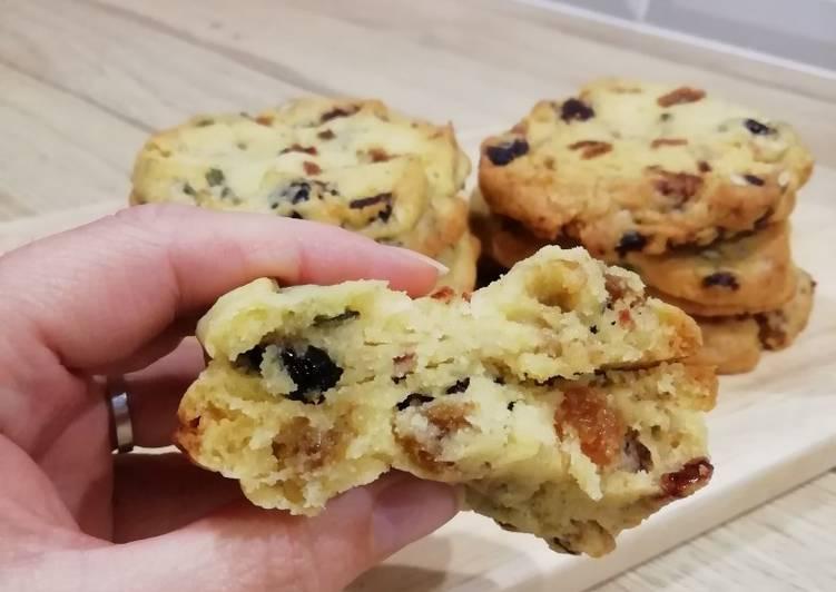 Le moyen le plus simple de Faire Parfait Cookies graines et fruits secs