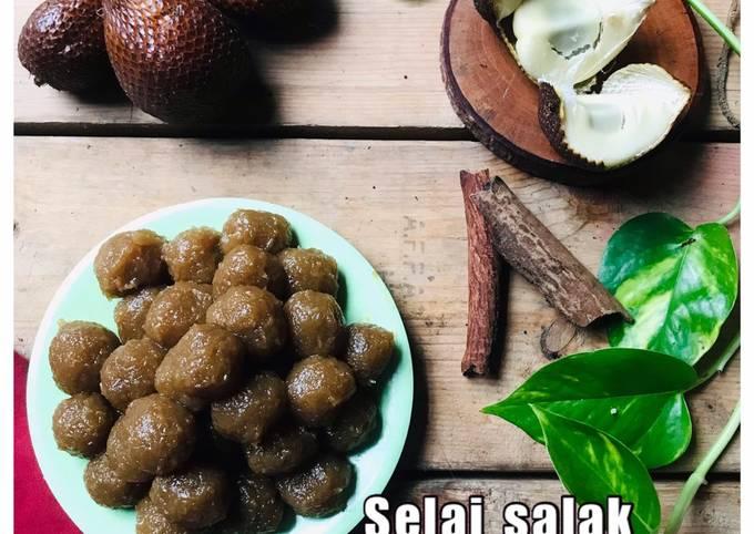 Resep Selai Salak untuk Isian pia/Bakpia/ roti Sobek/ cookies yang Lezat Sekali
