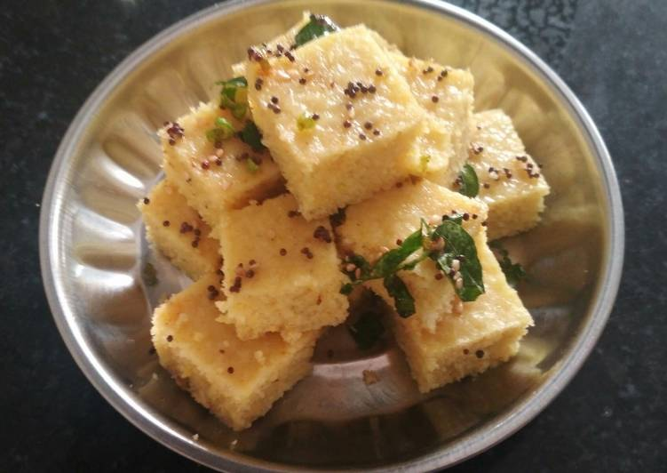 Dhokla Choosing Fast Food That's Very good For You