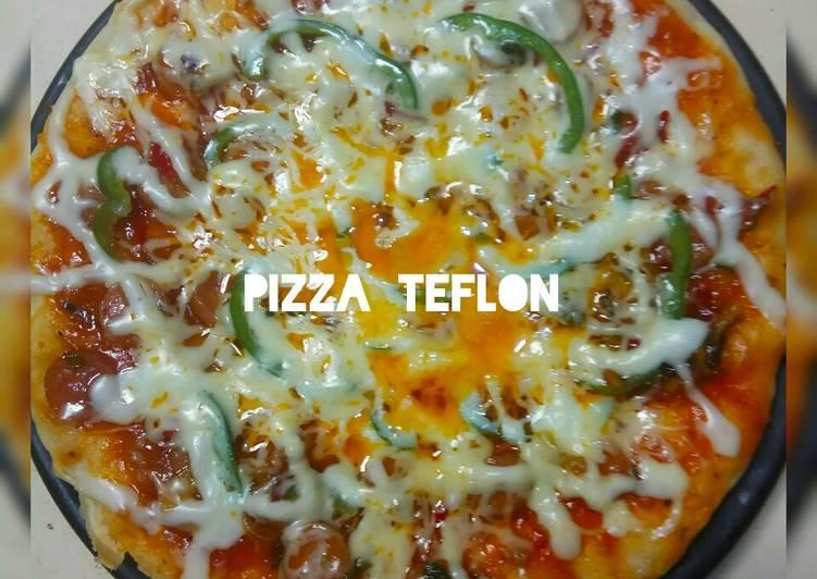 Cara Memasak 351. Pizza Teflon istimewa
