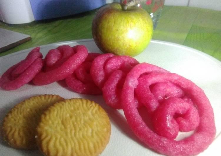 Jalebi sweet pink
